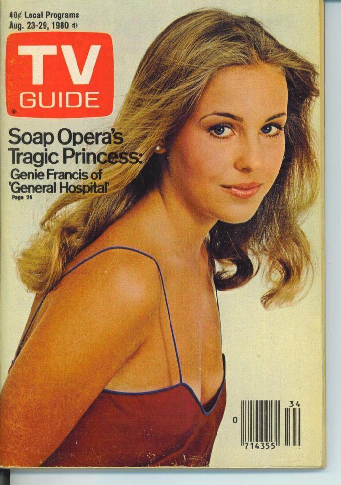 CHICAGO TV GUIDE 8-23-1980 GENIE FRANCIS~BARRY BREMEN~PROGRAM OPENERS