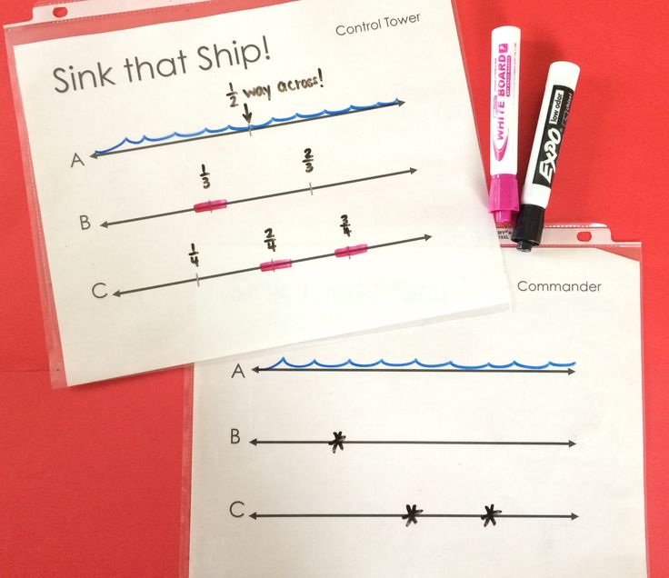 (FREE!) Sink that Ship! Locate benchmark fractions on a number line with this fun and addicting game.