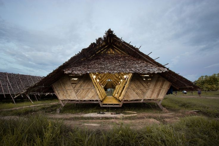 Temporary dormitories, Thailand, a.gor.a Architects | Built to accommodate Myanmar refugees, these temporary low-cost dormitories are easy to assemble and can be built by using as many recycled materials as possible.