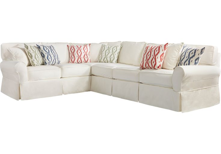 Cindy Crawford Home Beachside Natural 2 Pc Sectional .1899.99. 128W x 100.5D x 41H. Find affordable Living Room Sets for your home that will complement the rest of your furniture.  #iSofa #roomstogo