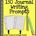 150 10-Minute Journal Writing Prompts