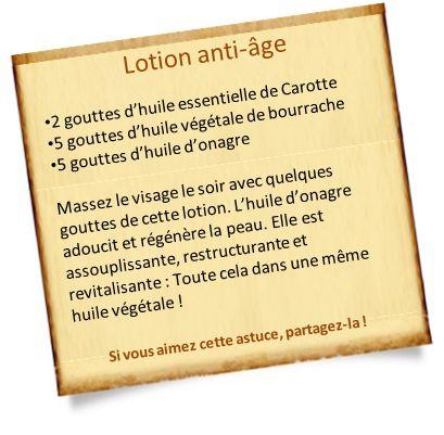 huile d'onagre anti âge Avec argan aussi t bon + he carotte ou rose musquée .