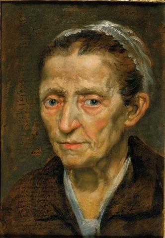 Annibale Carracci, Head of Old Woman, c. 1590 © Daniel Katz Family Trust