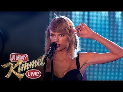 """Taylor Swift Performs """"Out of the Woods"""" - YouTube"""