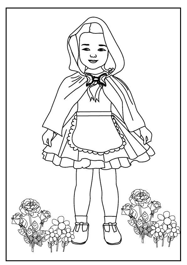 Image detail for coloring pages index little red riding