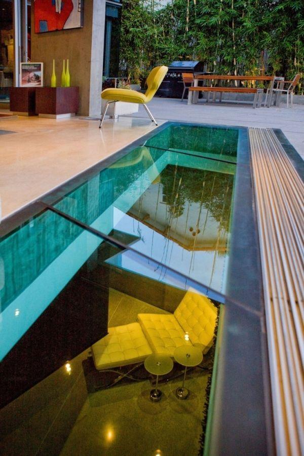 Doppelboden aus glas dach moderne ausf hrung vsg scheiben - Einsatz in 4 wanden ideen ...