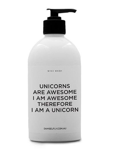 Unicorns are Awesome - Wish Wash from DAMSELFLY