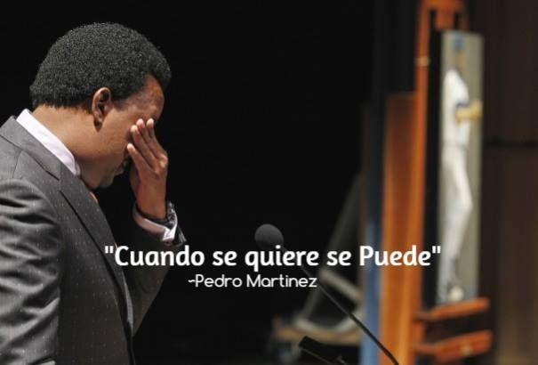 """Pedro Martínez: """"Cuando se quiere se puede""""."""