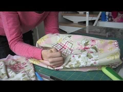 Living the crafts: Como hacer una funda para la máquinade coser  How to make a sewing machine cover