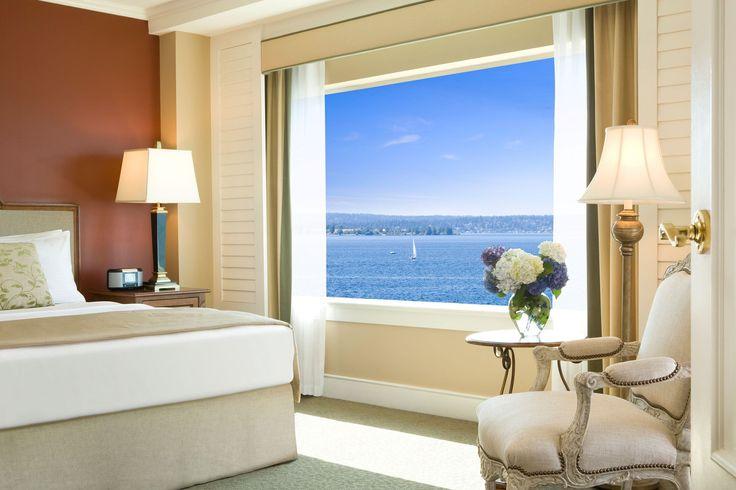 Kirkland Boutique Hotels on Lake Washington | Woodmark Hotel | Hotels near Seattle - Stunning views