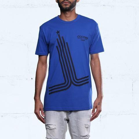 b42ec182a14 ... Hyper Cobalt Blue Foamposite Olympic Shirt - Shirt To Match Nike Foams  ...