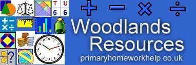 Woodlands Resources  Dozens of mathematics games for elementary school students. The games are organized according to skill sets. The categories are measuring skills, number skills, shape and space skills, and data skills. Many of the games that you will find on the Woodlands Resources site are appropriate for use on interactive whiteboards and touchscreen computers.