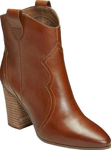 Presenting the Aerosoles Lincoln Square Ankle Boots. High-quality cowboy boots by the brand Aerosoles shown in Dark Tan Leather. Look like a boss wearing these cowboy boots from the designer Aerosoles. #boots #booties #ankleboots #shoes #fashion