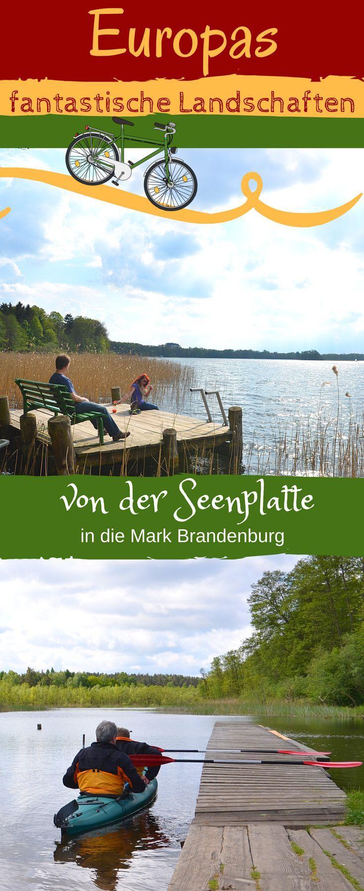 Zwischen den zwei Bundesländern #Mecklenburg und #Brandenburg liegen mit die schönsten Seenlandschaften Europas. Kommen Sie mit auf eine faszinierende Radrundfahrt - Urlaub für Individualisten! #Radtour #Reise #Deutschland