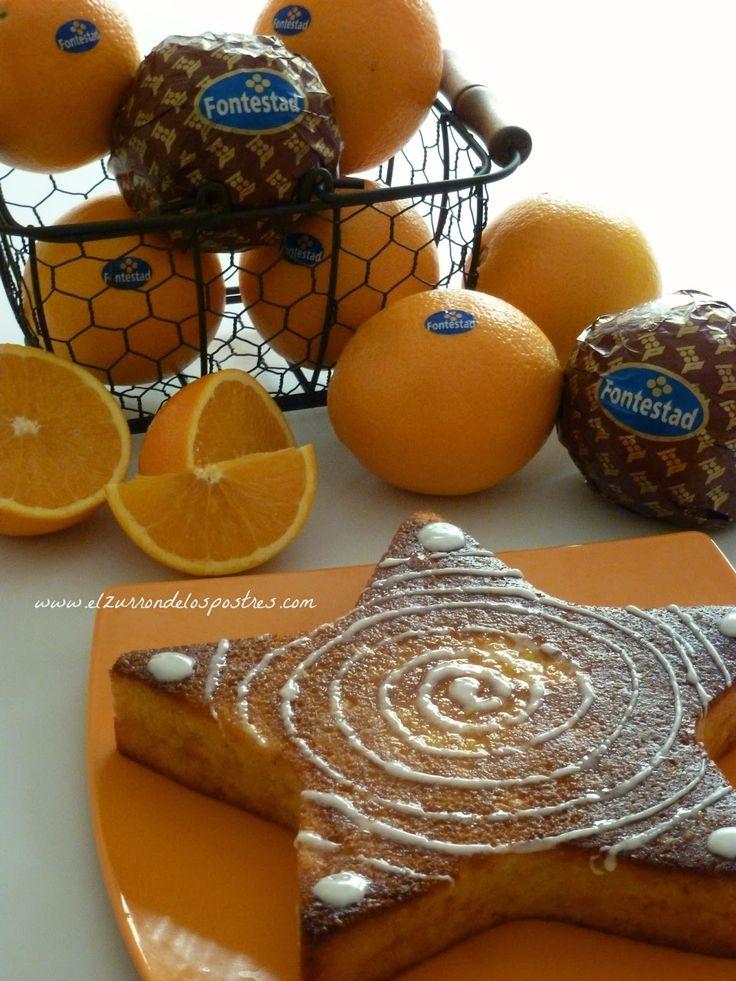 El Zurrón de los Postres: Pastel Intenso de Naranja