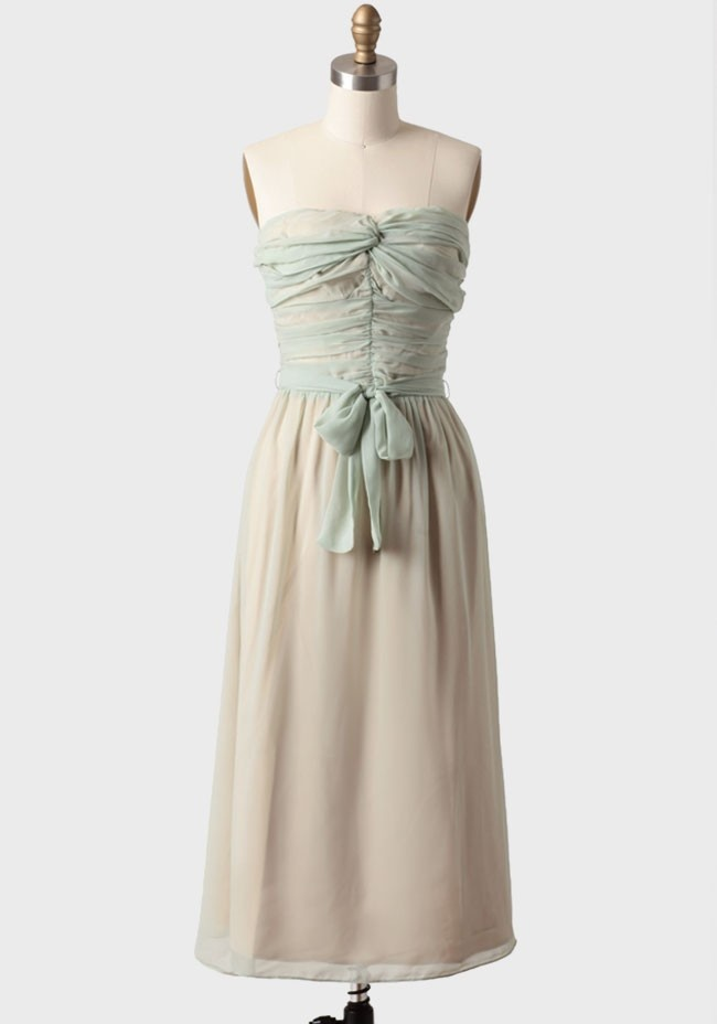 Dresses bridesmaids pinterest ruched dress modern vintage dress