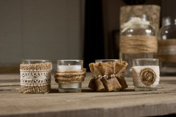 Hey, I found this really awesome Etsy listing at https://www.etsy.com/listing/163753174/set-of-24-votive-candles-country-wedding