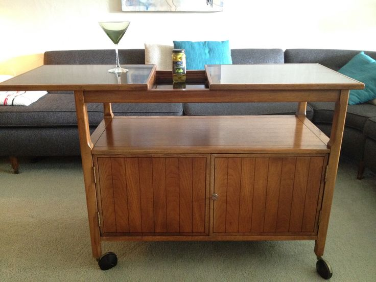 Bar Cart / Cabinet. For Sale.