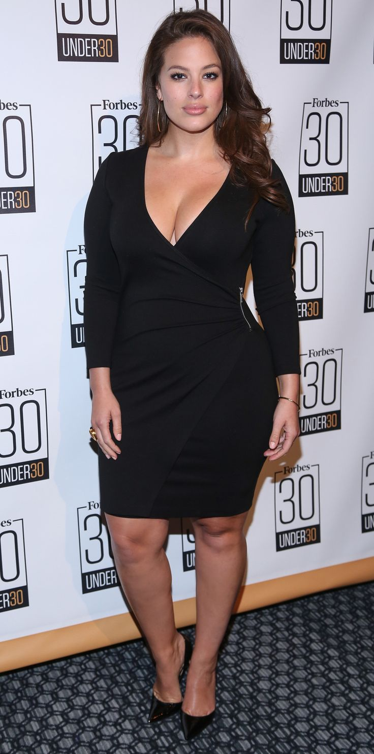 9 Plus-Size Style Lessons to Learn from Ashley Graham - When In Doubt, Wrap from InStyle.com