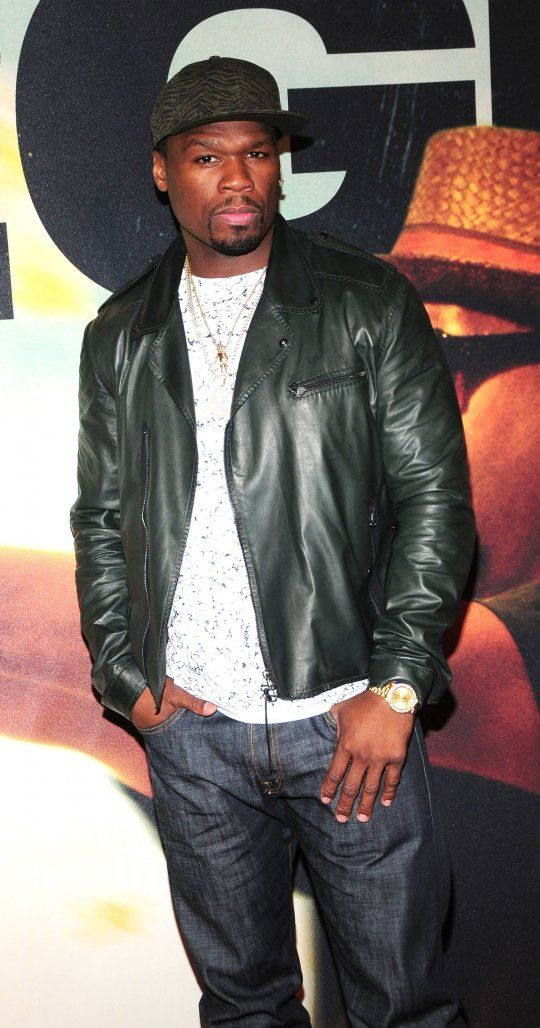 50 Cent At The NYC Premiere Of 2 Guns