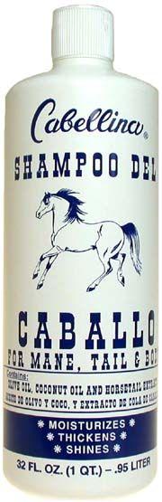 CABELLINA SHAMPOO DEL CABALLO - HORSE SHAMPOO  Mane and Tail Shampoo