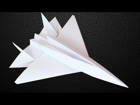 Origami: Avião F 14 Tomcat - YouTube