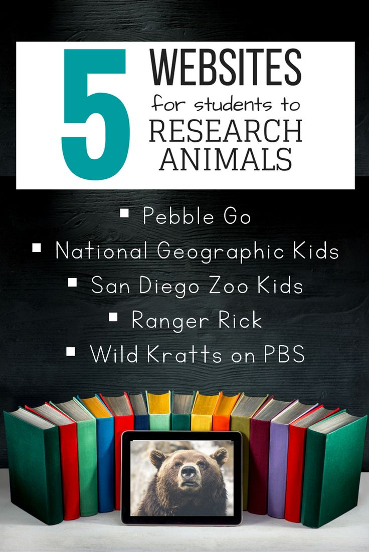 Five of my favorite online websites and databases for students to complete a research project! Click on over to read a description of each one and how I use it in my classroom!
