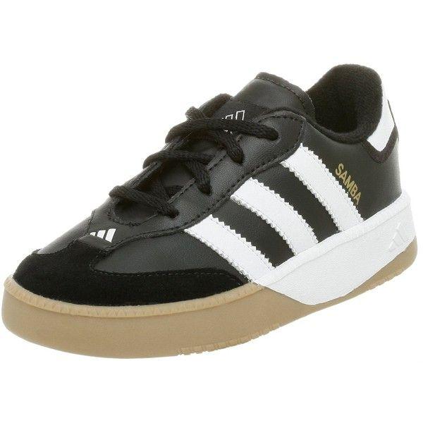adidas Samba M Leather Soccer Shoe (Infant/Toddler),Black/Running M US  Toddler - - Product Description: Adidas - Samba M I Infant Football Shoe In  Black ...