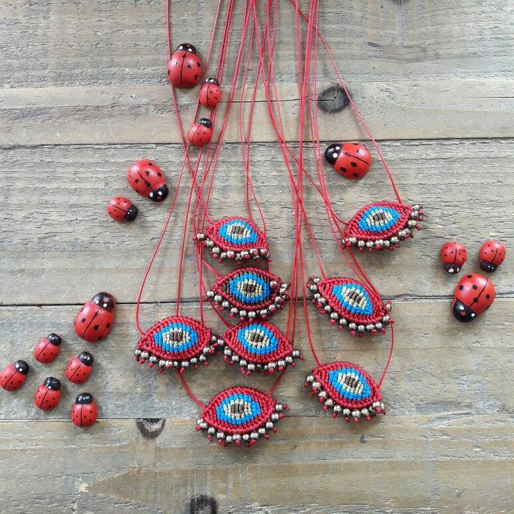 Evil eye madame necklaces