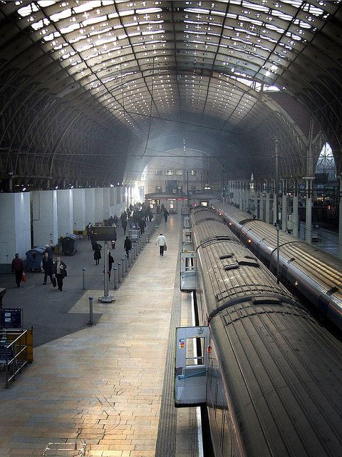 Paddington Station. Can't count how many times we ran for the last train back to Newbury.