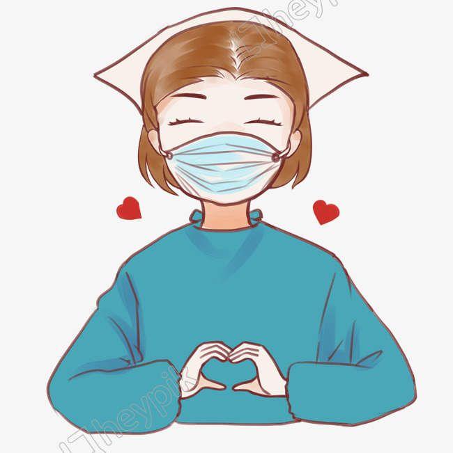 Ilustracion De Imagen De Dibujos Animados De Corazon De Enfermera Archivo Png Y Psd Enfermera Caricatura Enfermeras Animadas Frases De Enfermeria