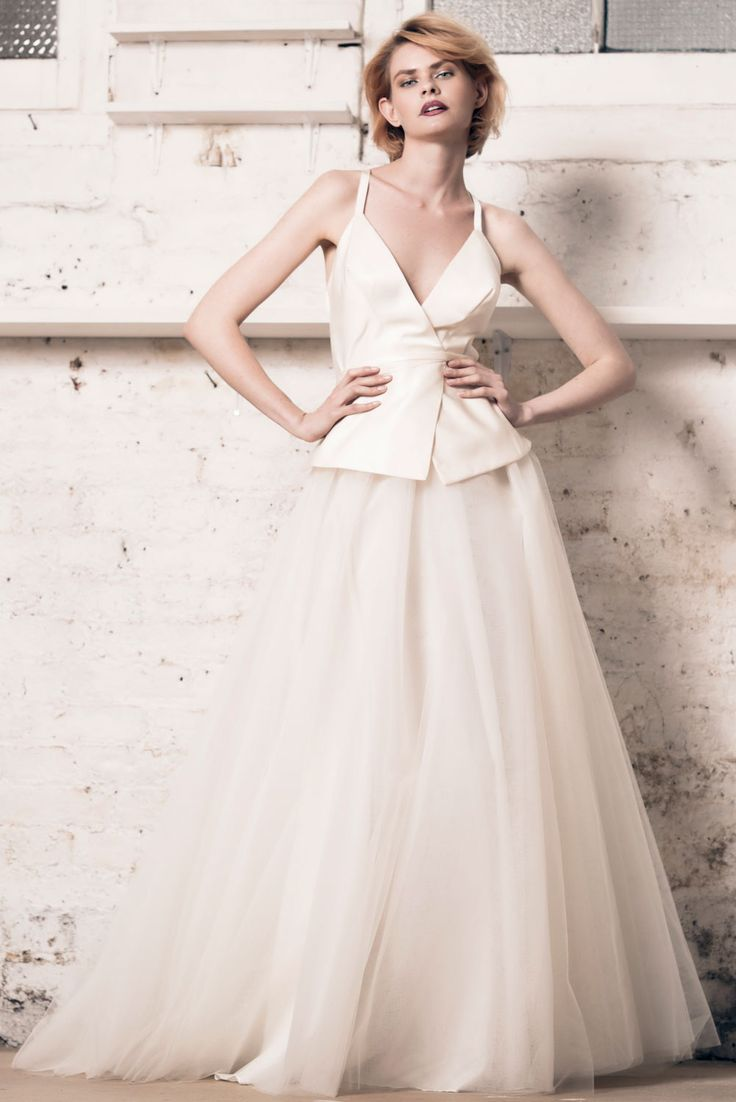14 best bridal wedding dress overskirts images on pinterest modern romance from muscat london 2016 bridal collection ombrellifo Gallery