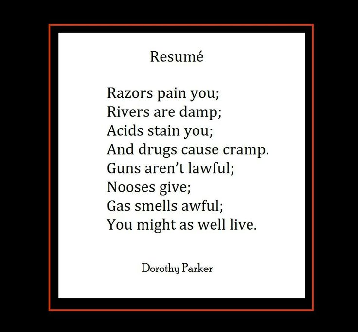 122 best Dorothy Parker images on Pinterest Dorothy parker - dorothy parker resume