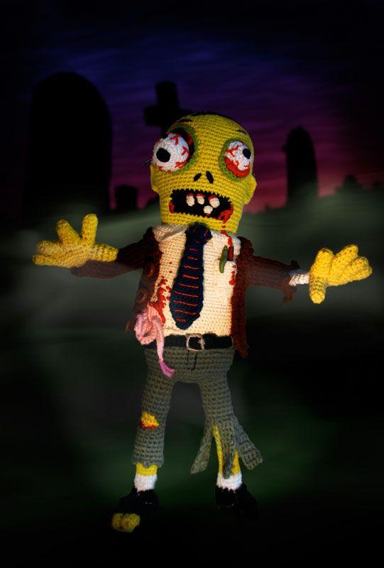 Zombie Crochet. Tim Burton