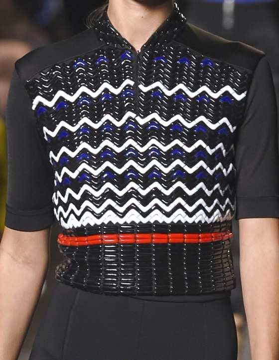 patternprints journal: PRINTS, PATTERNS AND SURFACES FROM NEW YORK FASHION WEEK (WOMAN COLLECTIONS SPRING/SUMMER 2015) / Alexander Wang