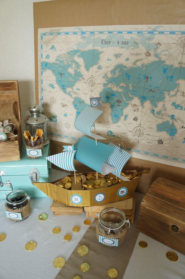 Anniversaire Pirates - Design et Papeterie : Dessine-moi une étoile