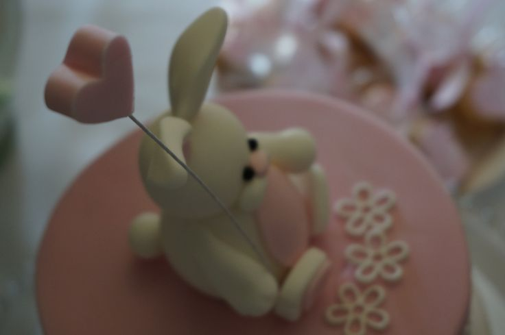 Holly's Bunny on Cake