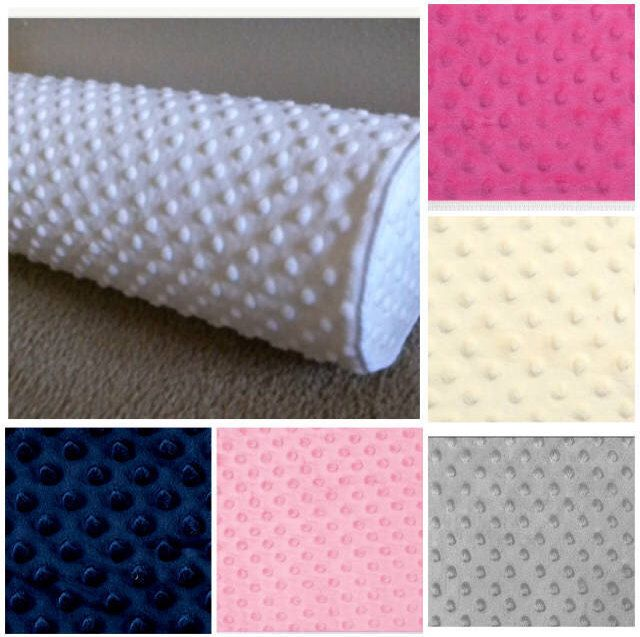 Minky Dots Bolster Covers Solid Colors, Nursery Bolster Covers, 6''x16'' by CleusaSordiDecor on Etsy https://www.etsy.com/listing/547524973/minky-dots-bolster-covers-solid-colors
