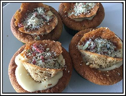 Vanilla Muffins - Originally adapted from one of Sally-Ann Creed's recipes, these Vanilla Muffins are both delicious and easy to make.