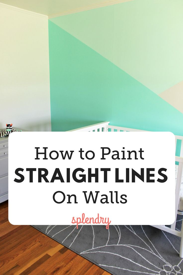 Instead Of Using Rulers Pencileasuring Tapes To Figure Out How Paint Straight Lines On Your Walls We Have The Easy And Quick Solution You Need