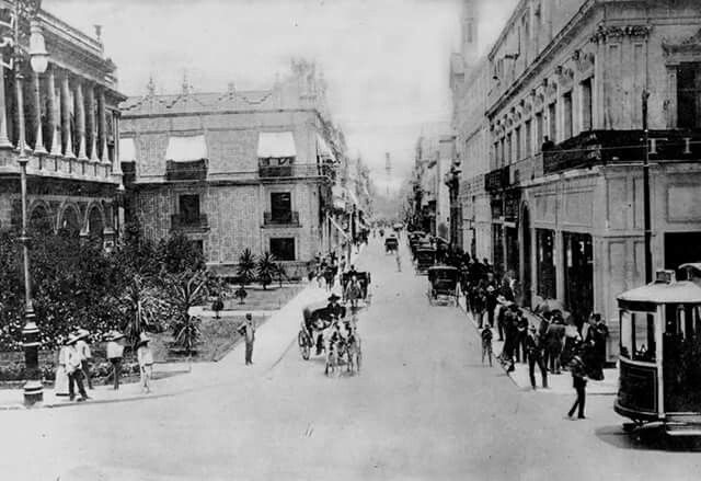 1911 Calle Madero Antes San Francisco Casa De Los