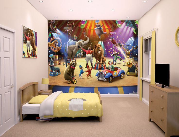 Walltastic The Circus Kids Wall Mural