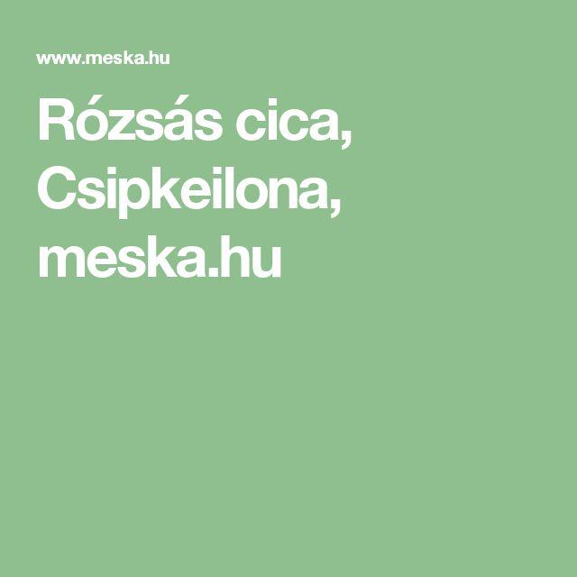 Rózsás cica, Csipkeilona, meska.hu
