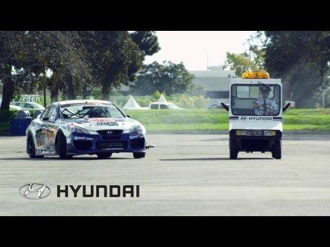 Genesis Coupe Drift Car Heist from former Hyundai Headquarters, in Fountain Valley, California, featuring Rhys Millen