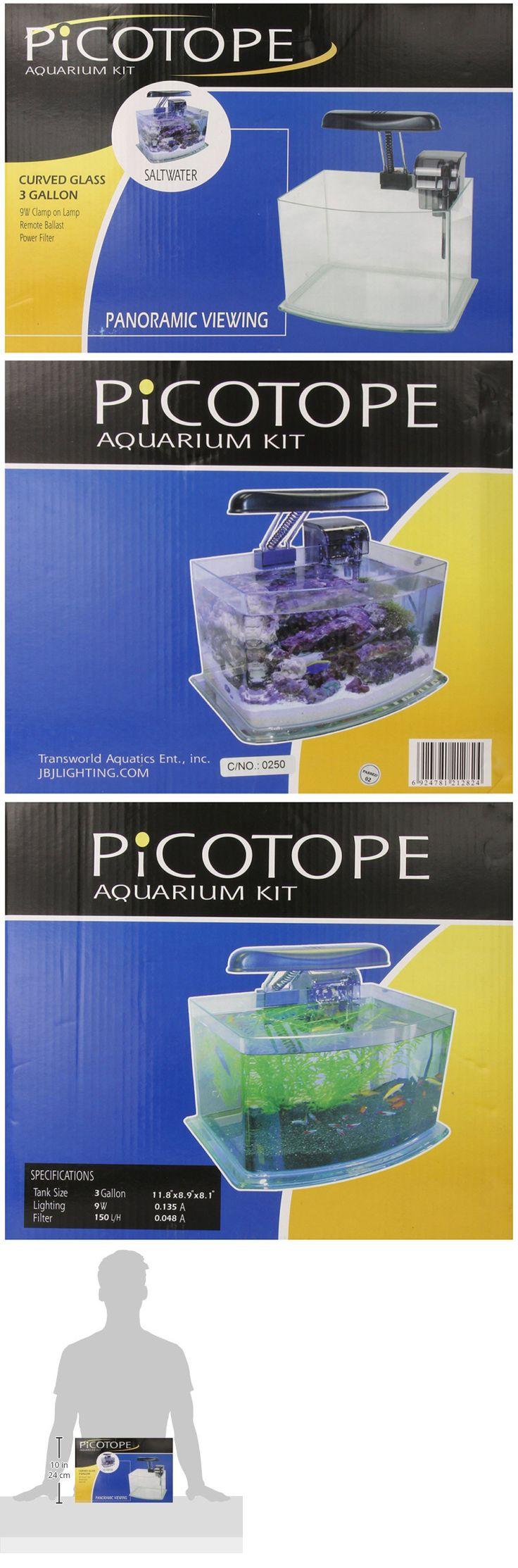Jbj aquarium fish tank siphon gravel vacuum cleaner - Aquariums And Tanks 20755 Jbj Picotope Curved Glass Nano Aquarium Kit 3 Gallon Buy It