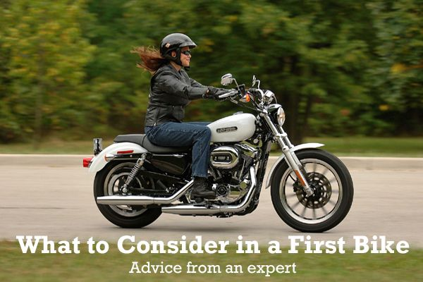 What motorcycle is right for a woman's first bike? Expert advice on what to consider when choosing your entry-level motorcycle.