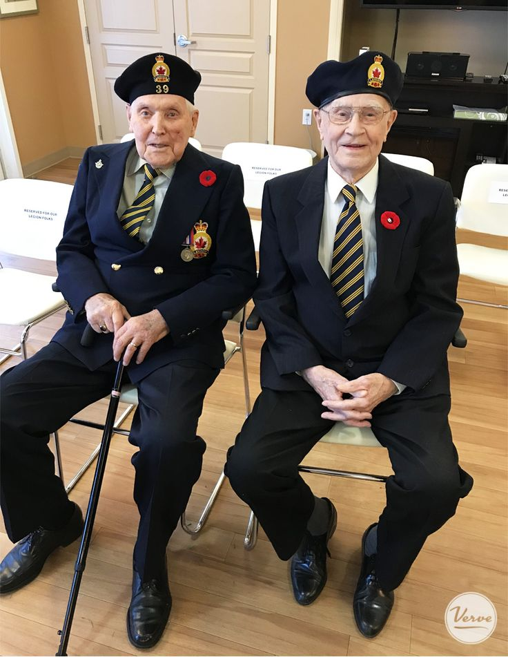 Resident's at Dr. Hemstock & Hearthstone Place took time to remember and celebrate those who sacrificed for our freedom 💗 #RemembranceDay