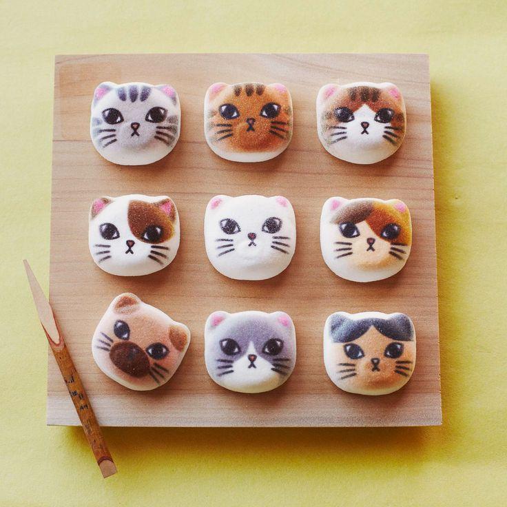 フェリシモ猫部 ミニ和風ニャシュマロ(猫ほうずい)の会|フェリシモ