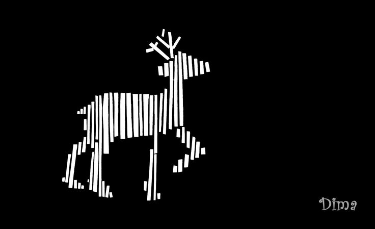 Teoría de Gestalt:Ley de proximidad.Ley de similitud.Materiales: Cartulina negra y blanca.Realizado por: Mayerly Muñoz - DiMa