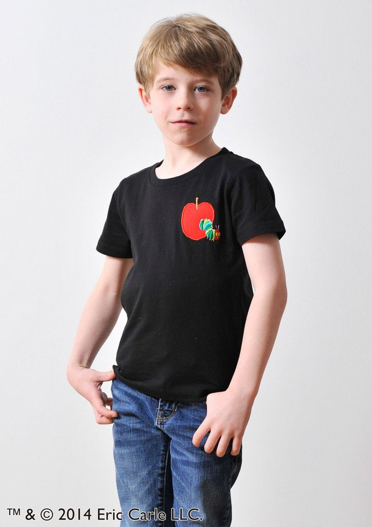 Eric Carle (Red Apple Embroidery) (KidsT) – Design Tshirts Store graniph